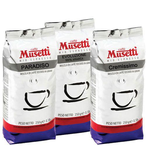 Musetti Kaffee zum Testen
