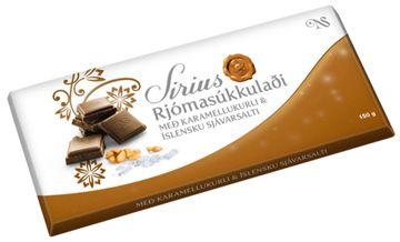 Sirius Rjomasukkuladi Schokolade Karamell Meersalz
