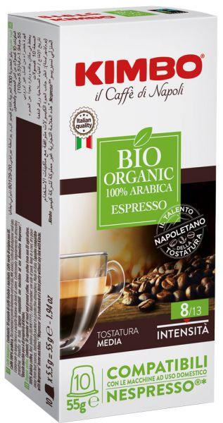 Kimbo Bio Nespresso®*-kompatible Kapseln