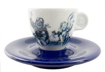 Blucaffe Espressotasse blau