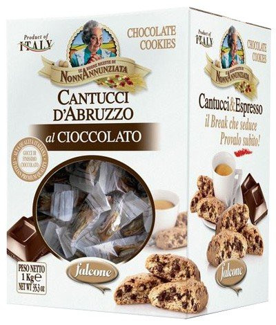 Falcone Cantucci Cantuccini Schokolade