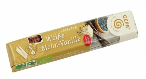 GEPA BIO Fairetta Weiße Mohn-Vanille