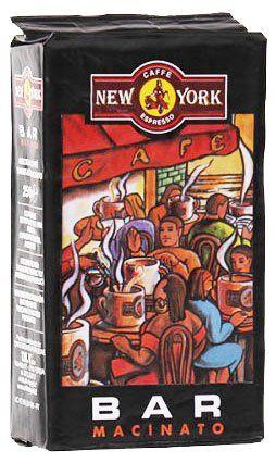 Caffe New York Espresso EXTRA Bar 250g Siebträgermahlung