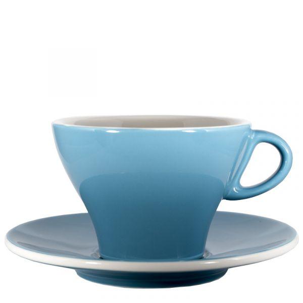 Club House Milchkaffeetasse Azurblau