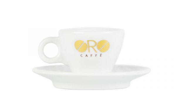 Oro Caffe Espressotasse Vorderseite