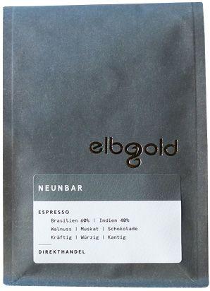Elbgold Espresso 1000g Bohne
