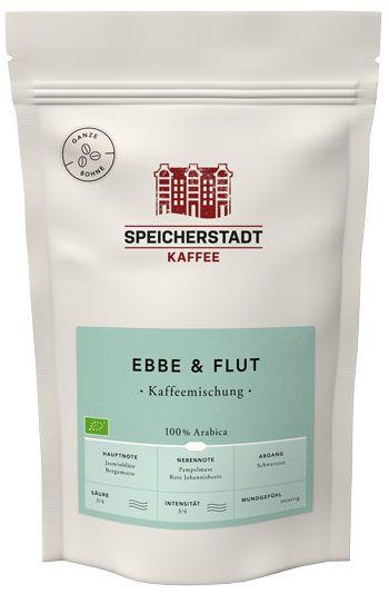 Speicherstadt Kaffee Ebbe & Flut 250g gante Bohne