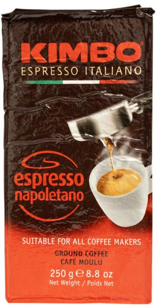 Kimbo Napoletano Espresso 250g gemahlen