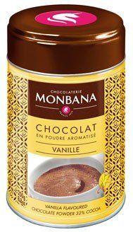 Monbana Trinkschokolade Vanille