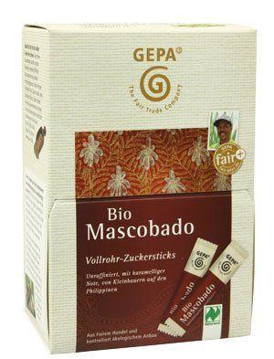 GEPA Mascobado Sticks unraffiniert 150g